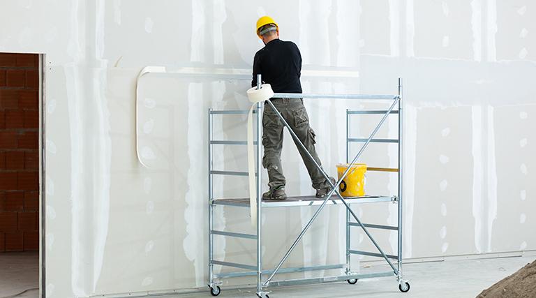 Peeling Drywall Tape